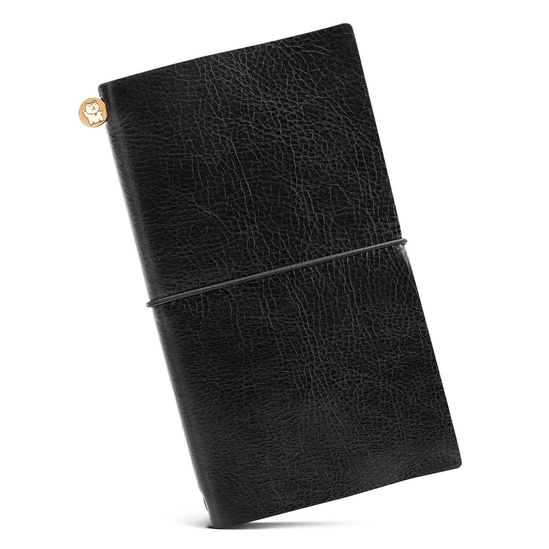 Блокнот Manekibook цвет BlackРабочий стол<br>Блокнот Manekibook цвет Black<br>Размер: 13 x 20 x 2 cm; Объем: None; Материал: Кожа, бумага; Цвет: Черный;