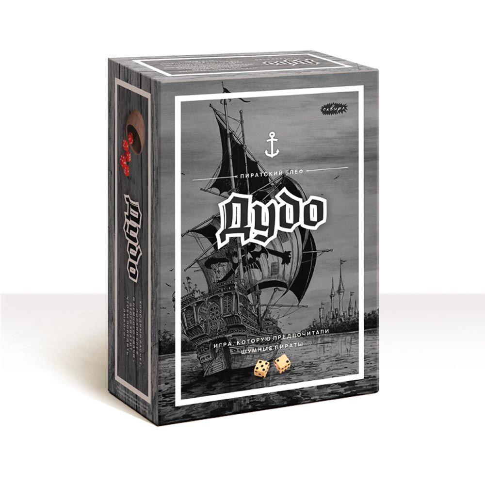 Дудо, настольная играПодарки<br>Интересная игра с костями и кубиками.<br>Размер: None; Объем: None; Материал: Картон, бумага, текстиль.; Цвет: None;