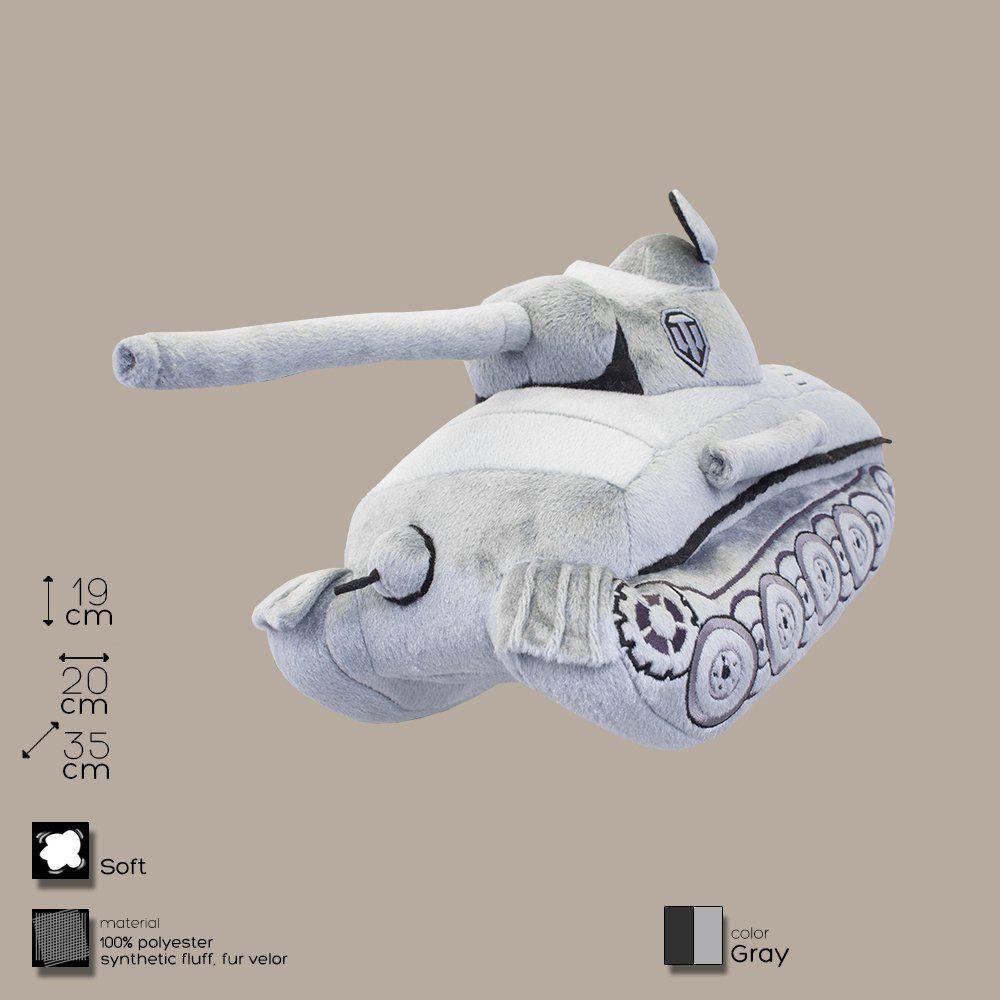 Плюшевая игрушка Танк Пантера (серый)Мягкие игрушки<br>Плюшевая игрушка Танк Пантера (серый)<br><br>В честь любого праздника победы.<br>Размер: 35 х 19 х 20 см; Объем: None; Материал: Полиэстер; Цвет: Серый;