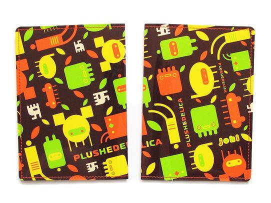Обложка для паспорта InvadersПодарки<br>Обложка для паспорта Invaders<br><br>Обложка с авторской иллюстрацией от творческого проекта Plushedelica.<br>Размер: None; Объем: None; Материал: ПВХ; Цвет: Комбинированный;