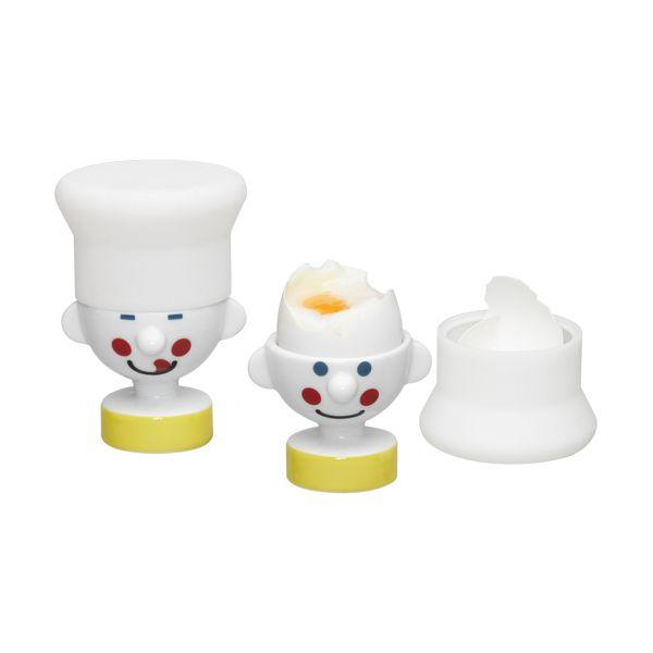 Набор для подачи яиц ChefДекор и хранение<br>Набор для подачи яиц Chef<br>Размер: 9.4 х 7 х 7 см.; Объем: None; Материал: Керамика; Цвет: None;