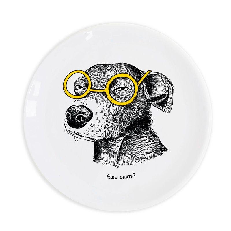 """Тарелка """"Собака - подозревака"""" от 1 099 руб"""