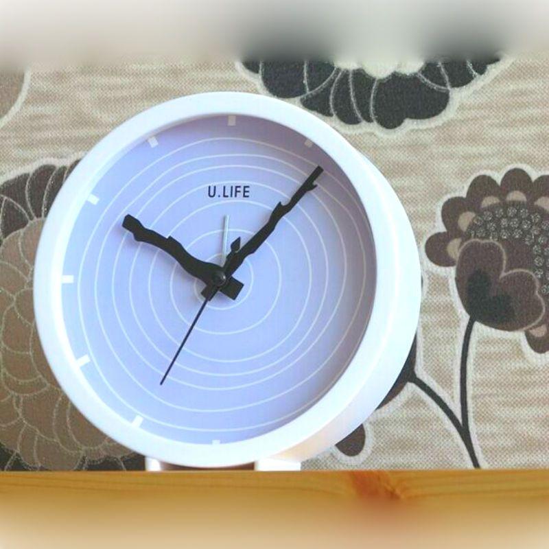 Будильник U.Life голубойПодарки<br>Будильник «U.Life» (голубой)<br>Размер: 13 х 5 х 13 см.; Объем: None; Материал: Пластик, стекло; Цвет: Голубой;