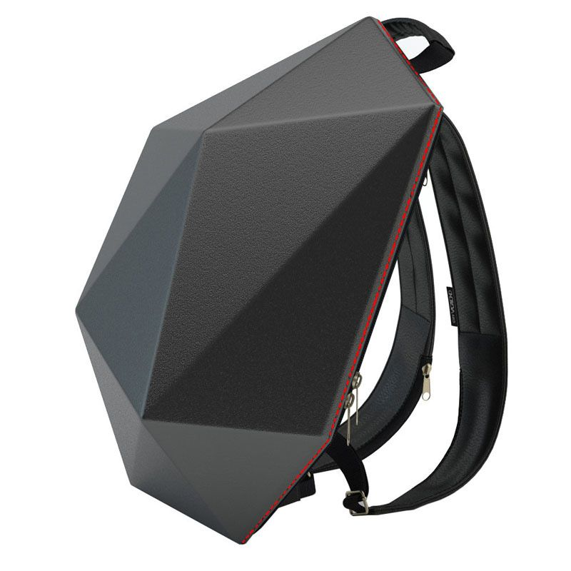 Рюкзак Superhero Backpack Черный red edition от City VagabondПодарки<br>Рюкзак для настоящих супергероев.<br>Размер: 41 х 31 см; Объем: 11,2 литра; Материал: Алькантара; Цвет: Черный / Красный;