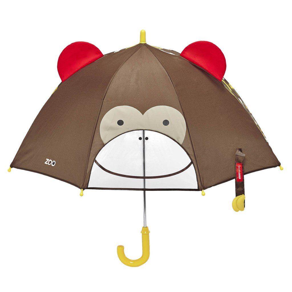 Зонт детский ОбезьянаПодарки<br>Зонт детский Обезьяна<br> <br> С таким зонтиком не страшно и под дождем прогуляться, необычный подарок каждому ребенку.<br>Размер: 60 х 66 см; Объем: None; Материал: Полиэстер; Цвет: Желтый;