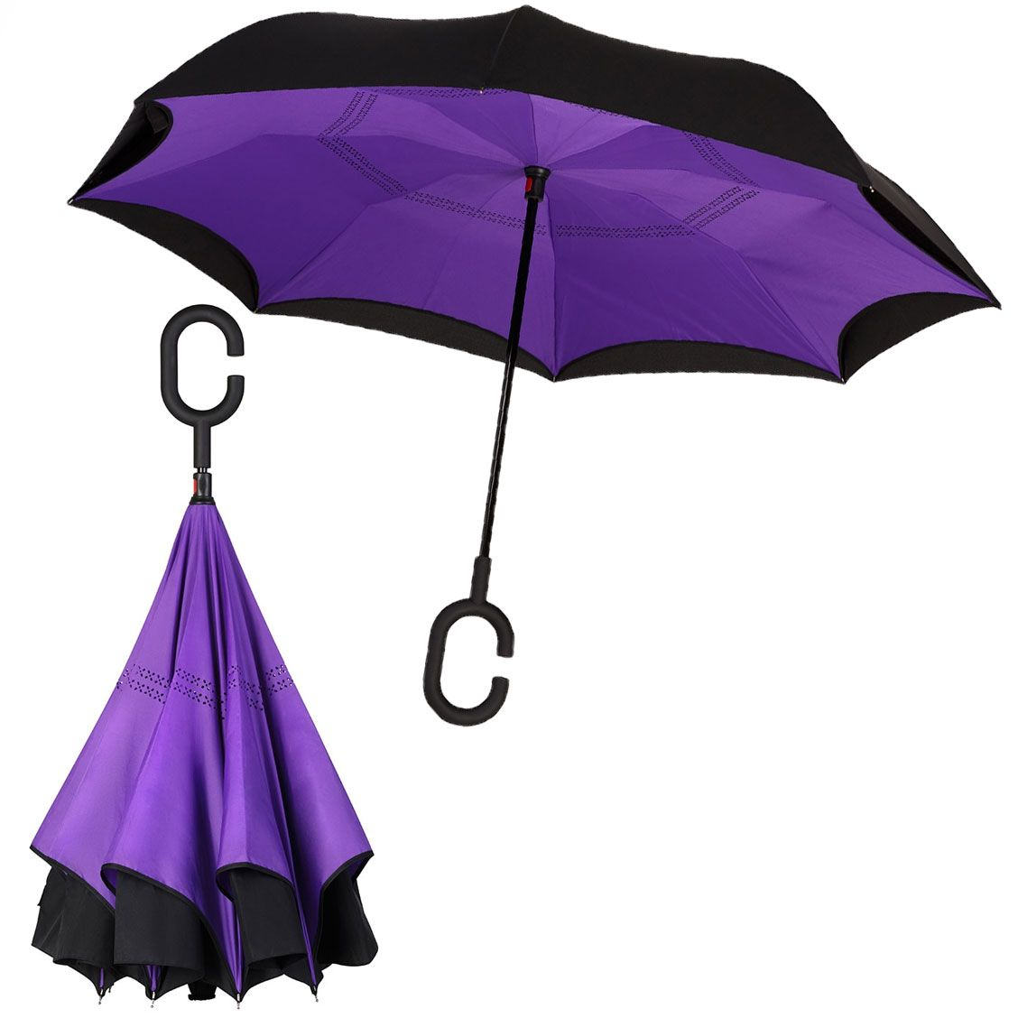Зонт SmartZont Фиолет КлассикПодарки<br>Технологичный зонт SmartZont:<br> 1. Сухой после дождя. Всегда.<br> 2. Стоит сам по себе. Без всякой опоры. <br> 3. Ручка hands free. Свобода движений. <br> 4. Усиленная технология Антиветер. Невозможно сломать. <br> 5. Минимум места для открытия. И для закрытия то...<br>Размер: 86 см; Объем: None; Материал: Стекло; Цвет: Фиолетовый;