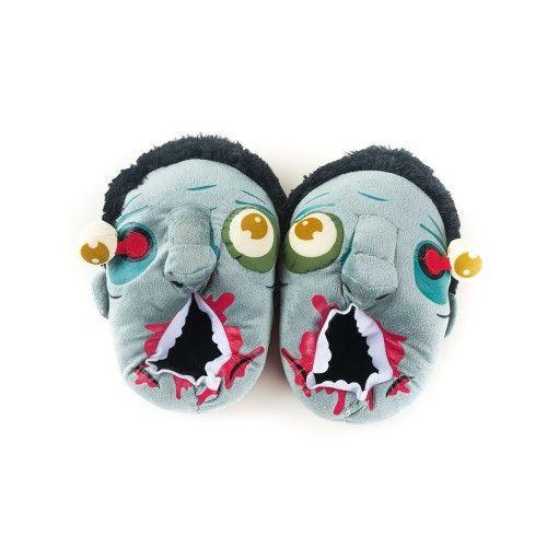 Тапочки Голодные зомби (38-43)Подарки<br>Тапочки из известных фильмов про зомби.<br>Размер RU: 38, 39, 40, 41, 42, 43; Объем: None; Материал: Полиэстер; Цвет: Серый;