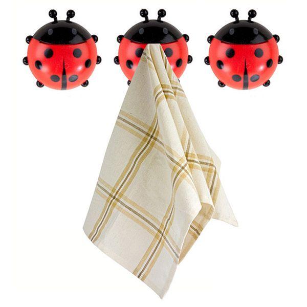 Держатель для полотенец Ladybird 3шт.